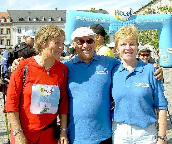Wir waren dabei beim Deutschland-Walk in Fürth am 10.09.2006