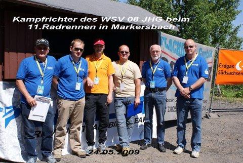 11. Auflage des Radrennens in Markersbach am 24.05.2009