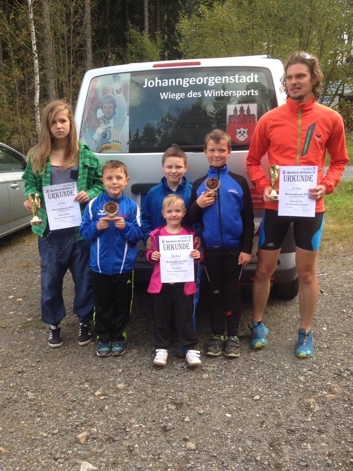 Abschlusscrosslauf in Grünbach