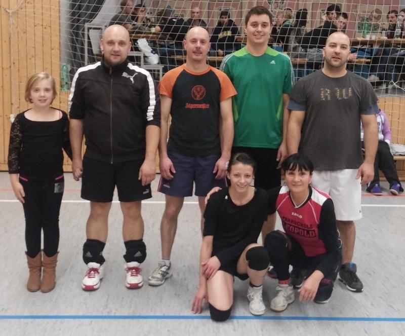Volleyballturnier des WSV 08 Johanngeorgenstadt 2014
