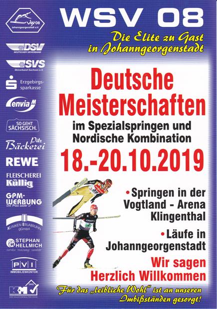 Deutsche Meisterschaften im Spezialsprunglauf und Nordische Kombination